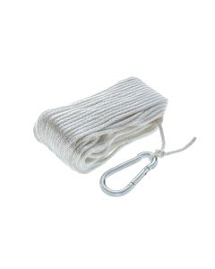 Solid Braid Anchor Line with Spring Hook