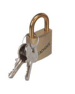 Solid Brass Padlock with 2 Keys